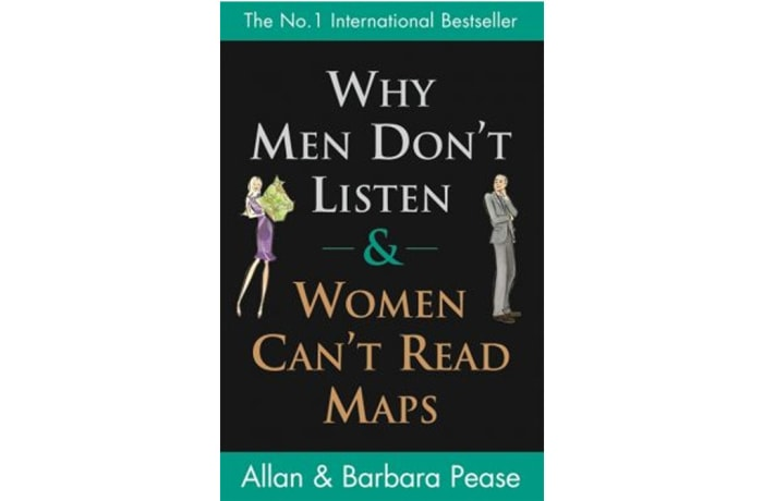 Why Men Don't Listen & Woman Can't Read Maps by Allan and Barbara Pease image
