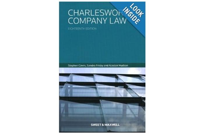 Charlesworth Company Law 18th Edition image