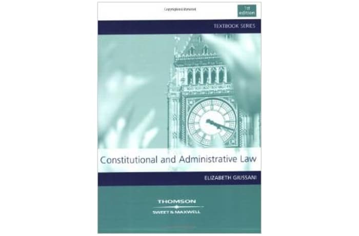 Constitutional and Administrative Law 1st Edition image