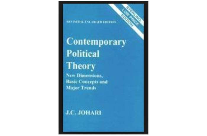 Contemporary Political Theory image