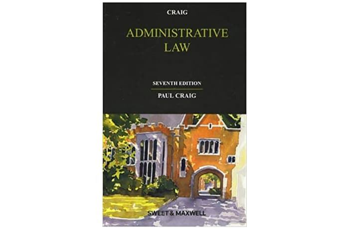 Administrative Law 7th Edition image