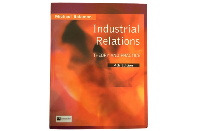 Industrial Relations Theory and Practise (4th Edition) image