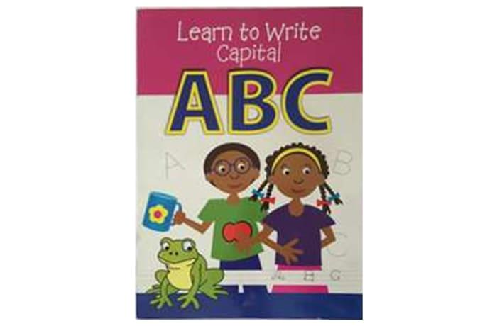 Learn To Write Capital ABC image