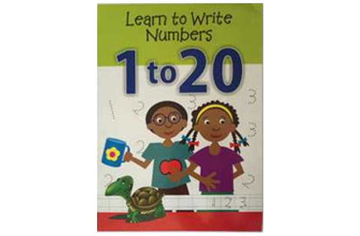 Learn To Write Numbers 1 to 20 image