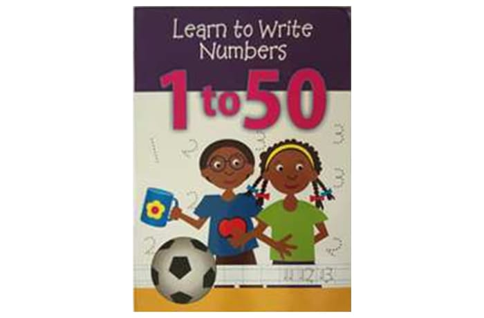 Learn To Write Numbers 1 to 50 image