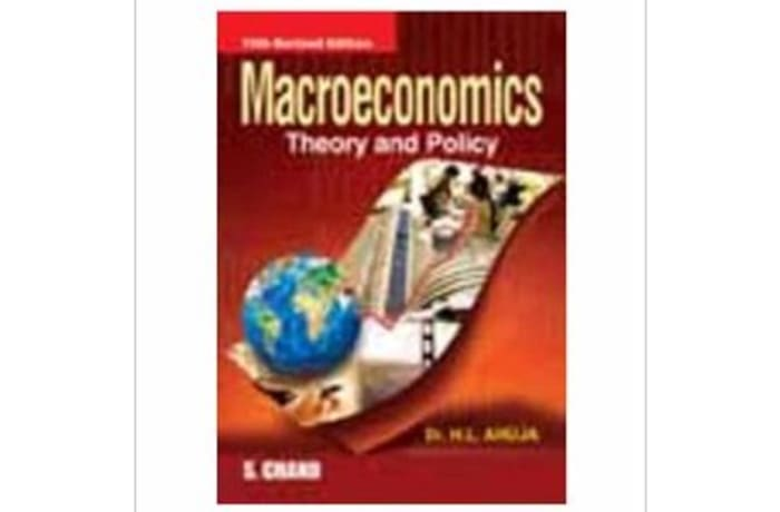Macroeconomics Theory And Policy image