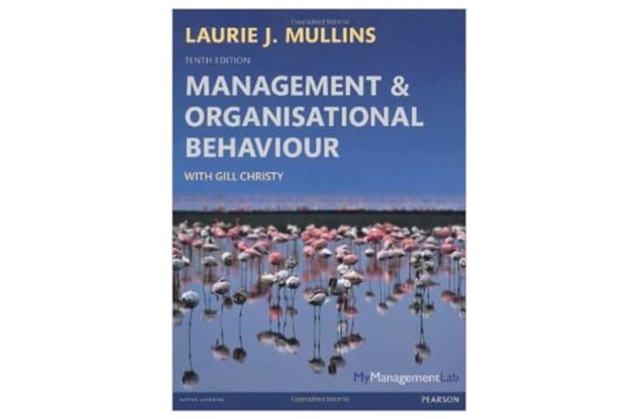 Management & Organisational Behavoiur image