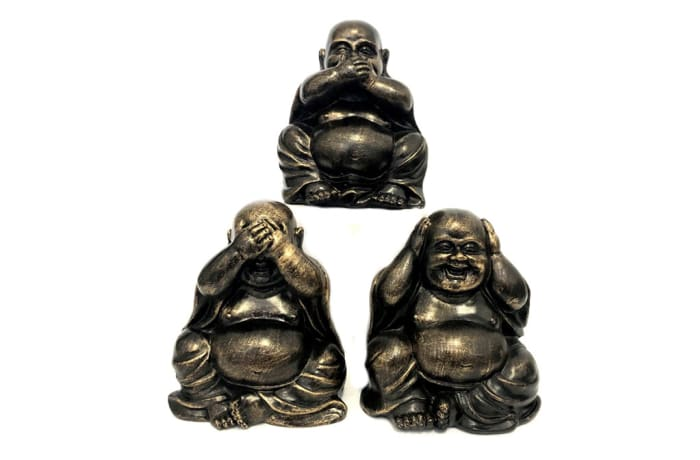 Buddha  Statues Hear, Speak & See No Evil image