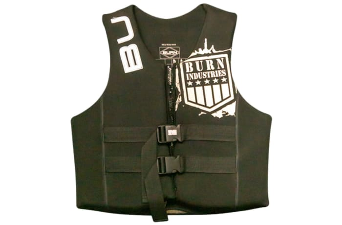 Burn Industries Youth Life Jacket - black image