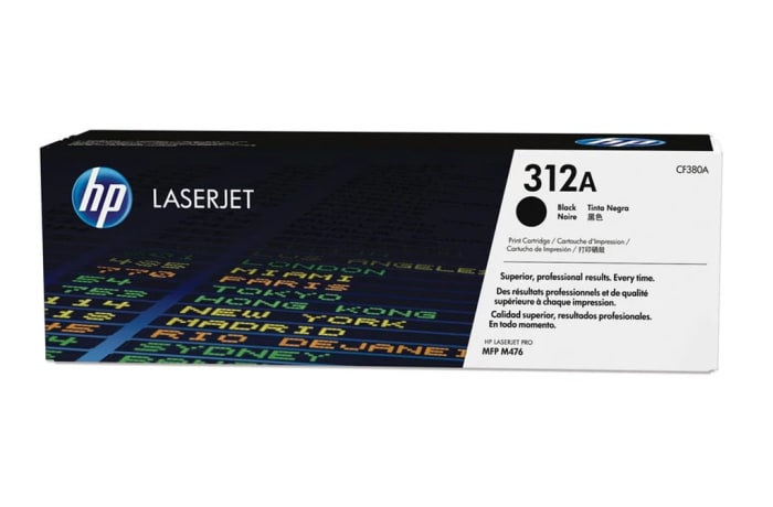 Printer Toner Cartridges - Hewlett Packard CF380A (HP 312) Toner Cartridge image