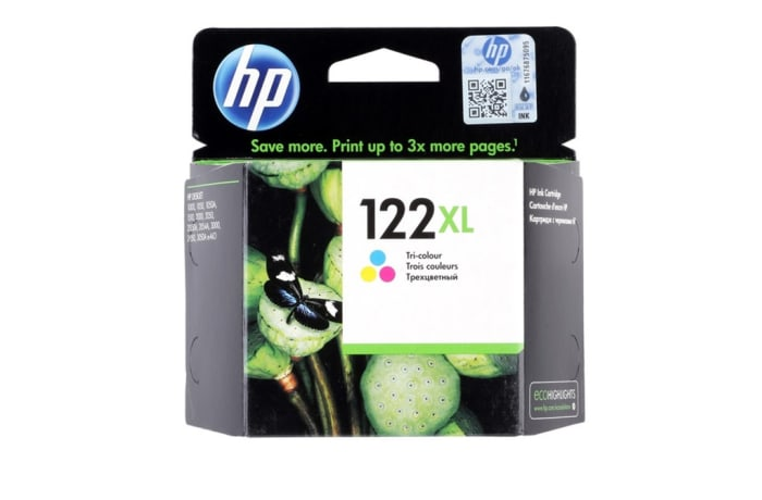 Printer Toner Cartridges - Hewlett Packard HP 122XL Colour Toner Cartridge image