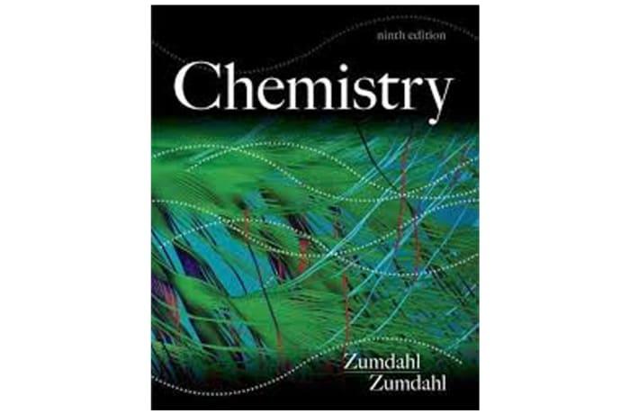 Chemistry Zumdahl 9th Edition image