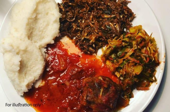 Zambian Fusion Dishes - Kapenta Mpulungu image