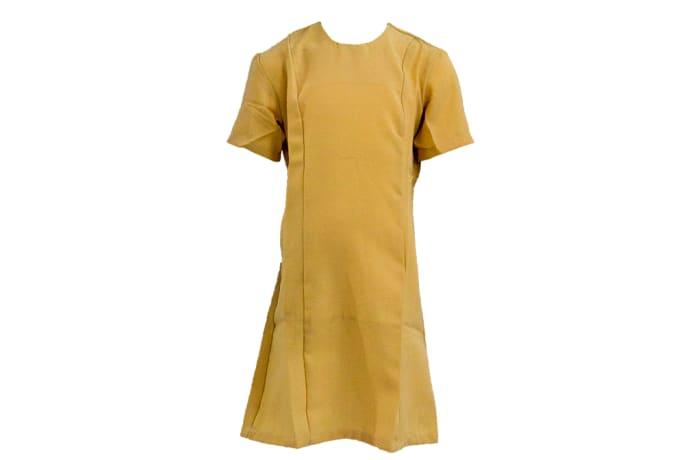 St Mary`s School Dress Beige  image