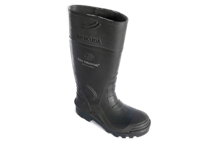 Bata - Mukuba Black Gum Boots  image