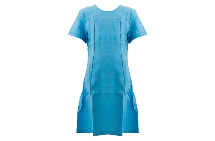 St Mary`s School Dress Light Blue image