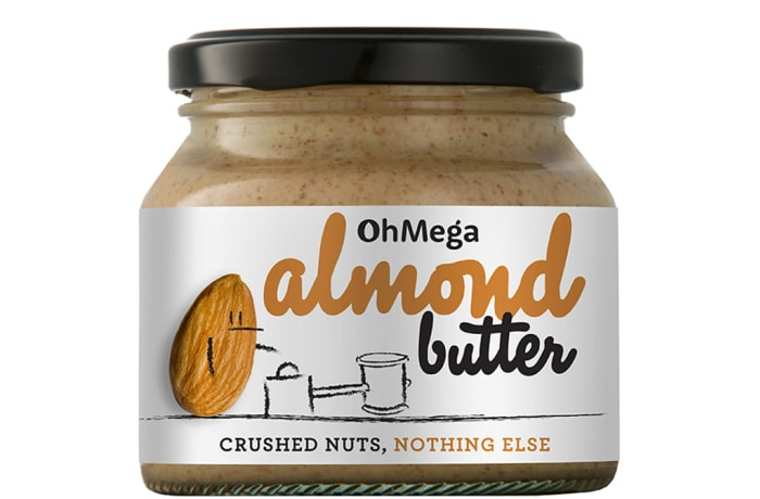Ohmega  Almond Butter  Crushed Nuts Nothing Else 250g image