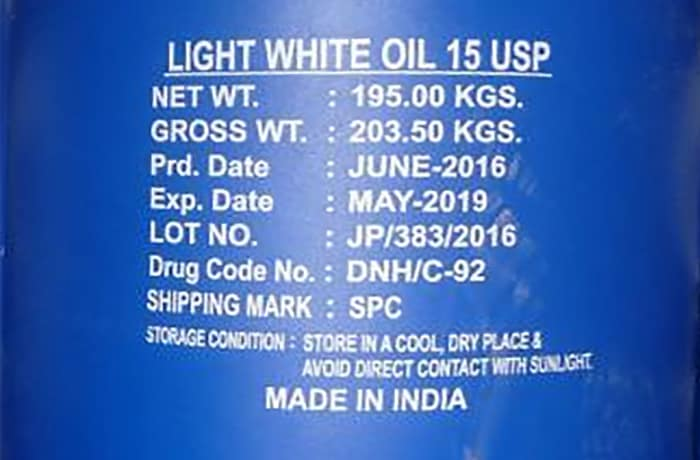 Light White Oil image