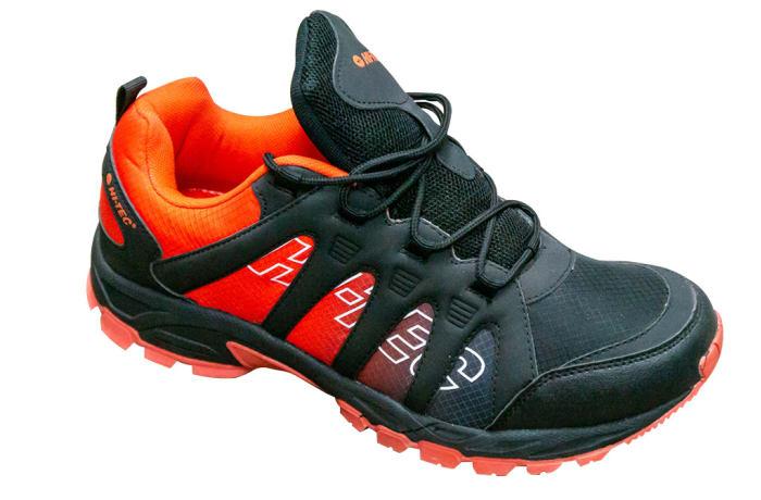 Bright orange heel fading into black Hi-Tec Active Footwear image