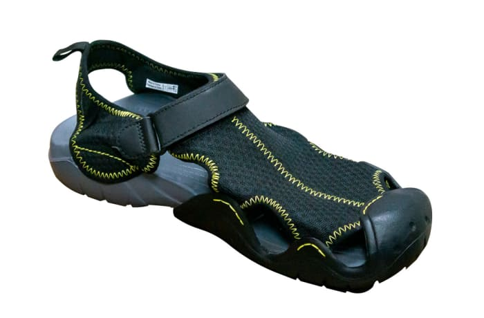 Comfortable Black Alternative sandals image