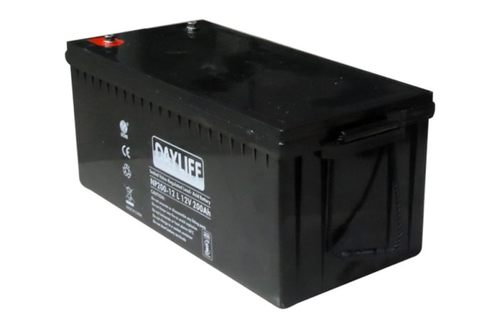 Dayliff 200Ah 12V Sealed Solar Battery image