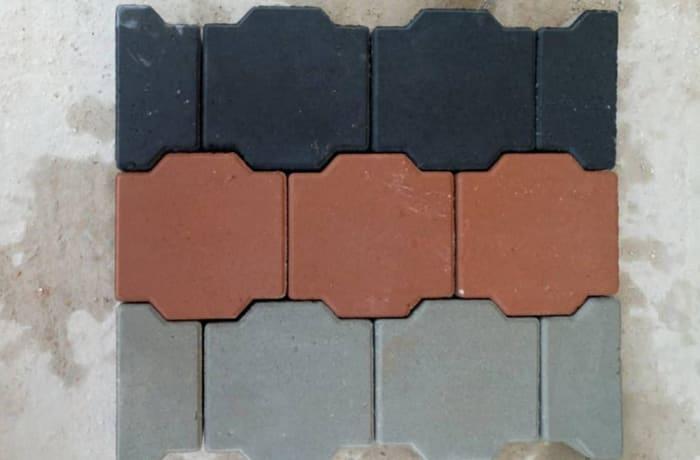 Ellipse Shaped Interlocking Paver Deniz Blocks