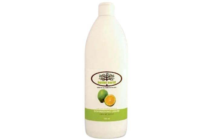 Dishwashing Liquid  Natural Lemon Biodegradable 75ml image