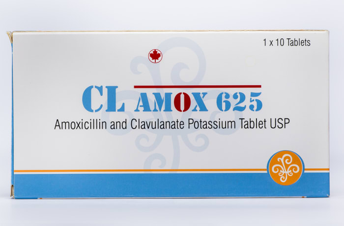Clamox 625 Amoxicillin and Clavulanate Potassium Tablet USP image