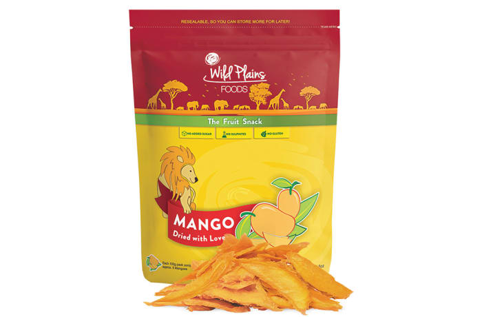 Dried Mangoes the Fruit Snack Dried with Love 100g image