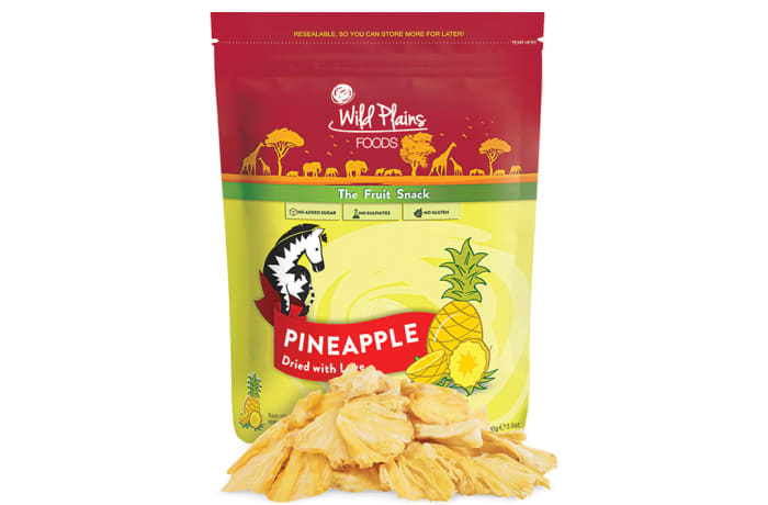 Dried Pineapples the Fruit Snack Made with Love 100g image
