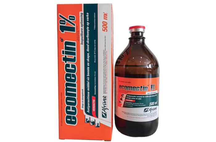Ecomectin 1% Injectable Internal/External Antiparasitic Remedy image