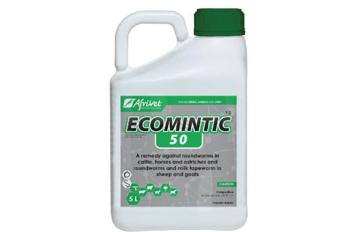 Ecomintic 50 Roundworm Internal Parasite Remedy Febendazole 5% image