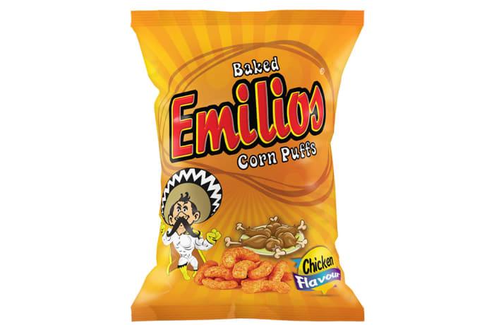 Emilios Chicken Corn Puffs 48 X 20g image