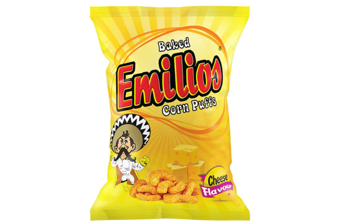 Baked Emilios  Corn Puffs  Cheese 48 X 20g image
