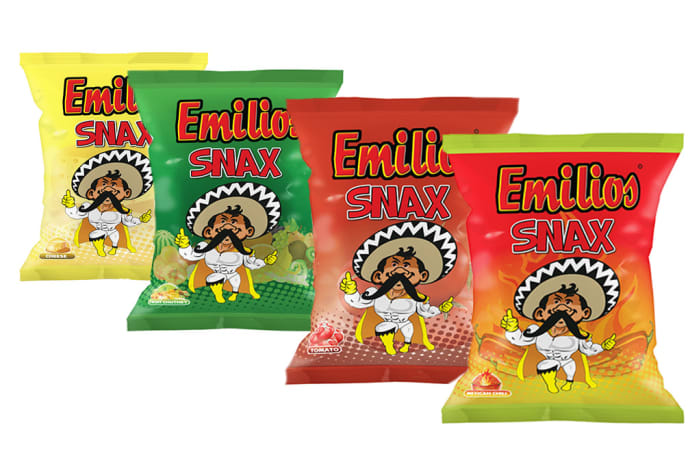 Emilios Assorted Snax - 50 x18g  image