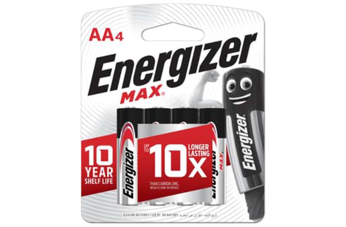 Energizer 4AA Max - Alkaline Batteries 4 Pack image