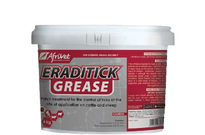 Eradtick Grease External Parasite & Tick Remedy for Cattle & Sheep  image