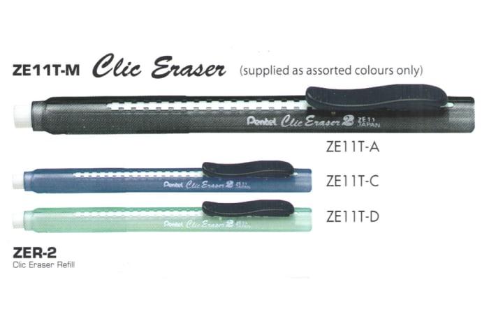 Erasers - ZE11T-M Clic Eraser image
