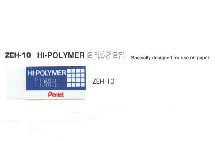 Erasers - ZEH-10 Hi-Polymer Eraser image