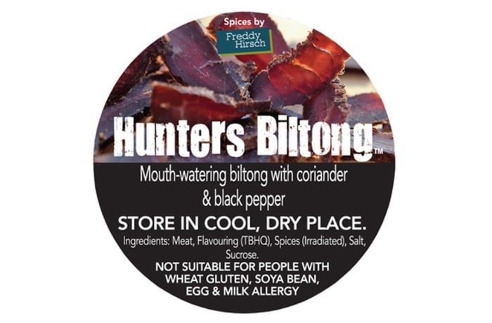 Biltong - Hunters Biltong Label 1 image