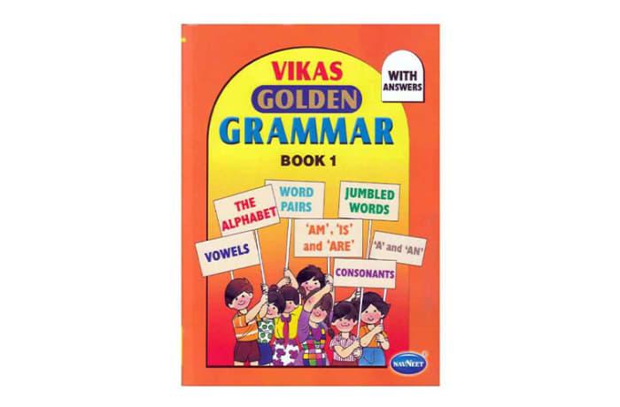 Vikas  Golden Grammar  Book 1 image