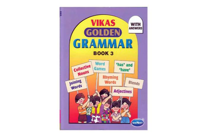 Vikas  Golden Grammar  Book 3 image