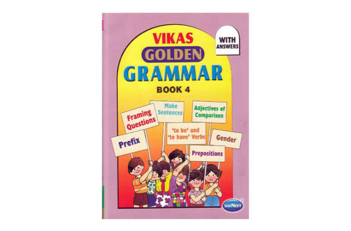Vikas  Golden Grammar  Book 4 image