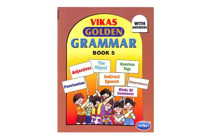 Vikas  Golden Grammar  Book 5  image