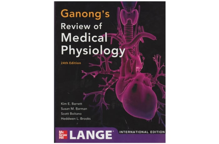 Ganong's Review Of Medical Physiology 24th Edition image