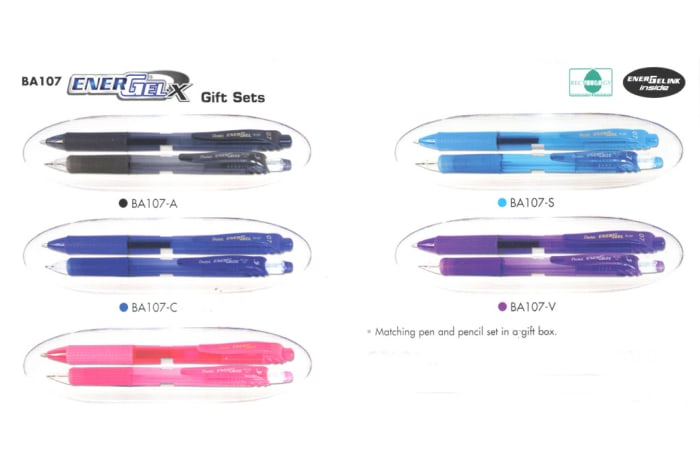 Gift Sets - BA107 Pen & Pencil  EnerGelx  image