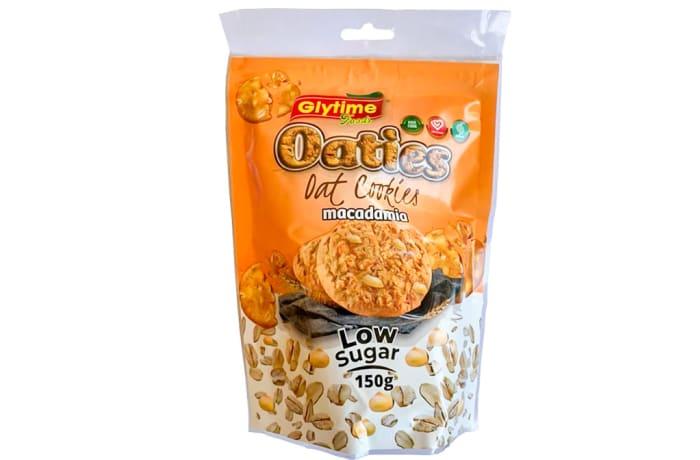 Oaties Oat Cookies  Macademia Low Sugar  150g  image