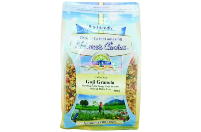 Goji Granola Wheat-Free Mix of Cereals and Seeds  500g image