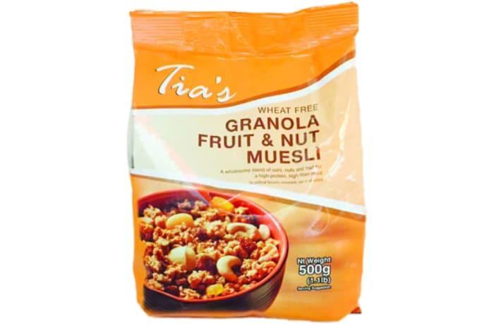 Granola Fruit & Nut Muesli Protein, Vitamin E, Fibre, Iron, Minerals 500g image