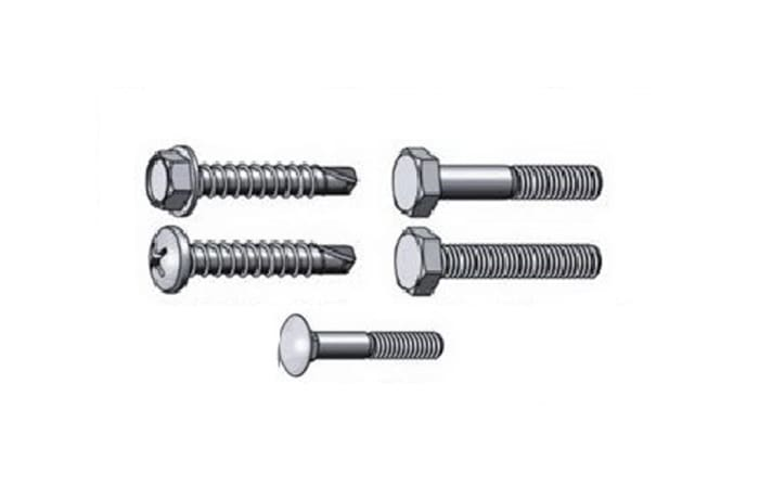 Low carbon steel Bolts image